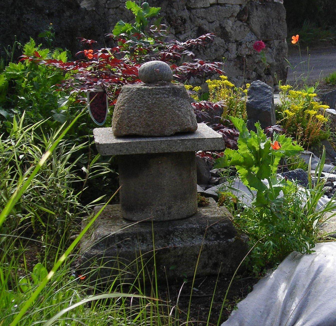 Transformation d un jardin champ tre en jardin japonais for Jardin et
